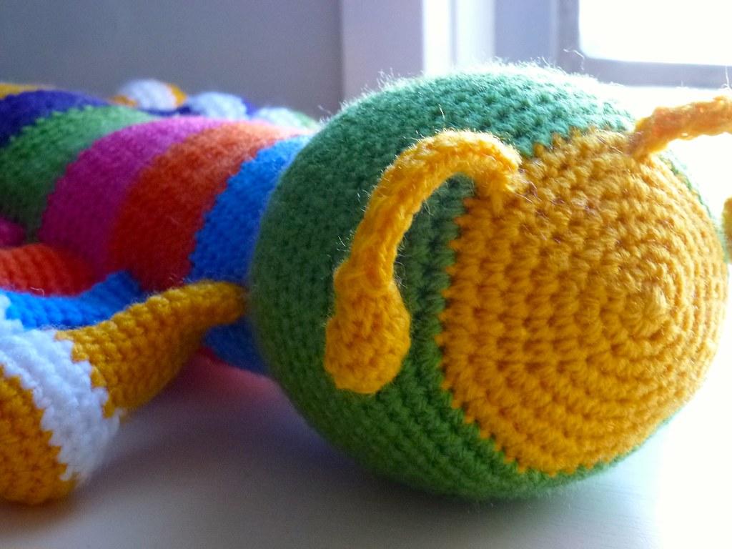 Amigurumi Caterpillar : The world's best photos of amigurumi and caterpillar flickr hive mind