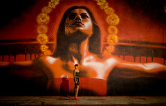Los Angeles Street Art by El Mac (Ivan Darko) Tags: california streetart art night zeiss canon 50mm graffiti losangeles lowlight artist arte culture elmac carlzeiss carlzeissplanart1450 eos6d elmacarte