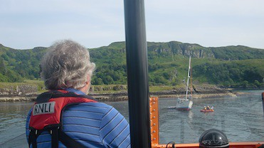 Oban lifeboat shout