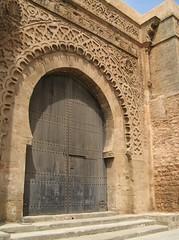Bab Oudaia, Rabat city walls, Morocco (golden road) Tags: gate mr unesco worldheritagesite morocco maroc marruecos marokko rabat citywall almaghrib baboudaia arribaat qasbadesoudaia