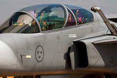 Gripen (supersabre69) Tags: england canon fighter force sweden aircraft aviation air jets cockpit swedish 7d static af bomber raf fairford riat gripen 2013