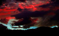 Sturm und Drang (Johnny Micheletto) Tags: sunset italy sun mountain alps nature clouds photoshop canon eos europe colours adobe johnny cs 5d alpi altopiano asiago vicenza cesuna micheletto 7comuni johnnymicheletto mygearandme laquintaessenza