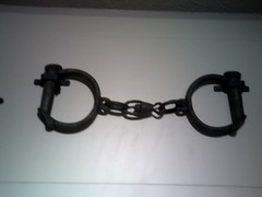 Norwich Castle Museum (John Bath) (messy_beast) Tags: england castle museum norfolk shackles norwich handcuffs manacles