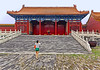 China 2013. Facetious tourists in the Forbidden City. (Margnac) Tags: margnac jeanpaul beijing forbiddencity pékin chine china 中国