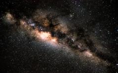 River in Space (soldeace) Tags: longexposure stack starts milkyway milkway nikond90 darktable