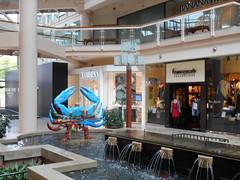 Baltimore (heytampa) Tags: fountain mall md artwork gallery interior maryland crab baltimore
