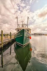 Jenna Lee (CapeCawder) Tags: clouds reflections boat hyannis jennalee nikcolorefexpro scottkelbyworldwidephotowalk