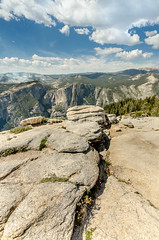Granite Rocks Leading Line on top of Sentinel Dome in Yosemite National Park (Carl's Photography) Tags: blue vacation mountain holiday rock horizontal pine trek iso200 nikon view outdoor hiking horizon tripod hike backpack granite vista isolation yosemitenationalpark wilderness f80 awe lonepine viewpoint scenics pinnacle sentineldome sigma1020mm 1320sec sigma1020mmf456exdchsm leefilters d7000 1320secatf80 nikond7000 gettyartistpicks reallyrightstufftripodandballhead 2013zionyosemite