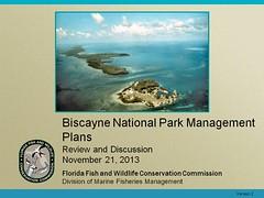 Biscayne National Park Mgt Plans (MyFWCmedia) Tags: florida wildlife conservation np commission weston biscayne fwc westonflorida biscaynenationalpark commissionmeeting floridafishandwildlife myfwc myfwccom myfwcmedia