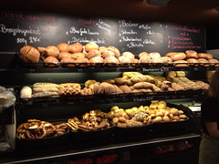 Cafe Flo Bakery goods display (tedesco57) Tags: new cakes coffee shop that french bread 1 am cafe with wine time mit year bakery stick rolls heavenly sahne neckar flo brot esslingen combined bretzel quiches ritterstrasse zwiebelkuchen backerei a laugenwecken zwetschenstrausselkuchen bergsteigerbrot