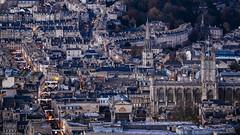 Bath Abbey. (Crusade.) Tags: uk autumn england urban architecture canon bristol landscape town bath somerset 70200f28 5d2