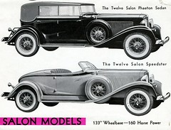 1933 Auburn Twelve Salon Phaeton and Speedster (aldenjewell) Tags: sedan auburn salon brochure twelve speedster 1933 phaeton