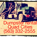 (563) 332-2555 Puts you in touch with Bettendorf Iowa Dumpster Re4ntal, Dumpster rental Prices Bettendorf, Dumpster Sizes