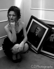 Aimee #2 (Callum Dickson Photography) Tags: pictures old blackandwhite woman white black girl fashion scotland model nikon dress indoors aimee inside nikkor nikond3200 d3200