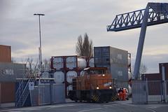 Northrail 92 80 1275 837-3 D-NRAIL Wanne-Herner Eisenbahn und Hafen GmbH lok 6 in de containerterminal Rhein-Waal van Emmerich (marcelwijers) Tags: 6 de und eisenbahn van 80 hafen 92 lok 1275 containerterminal emmerich gmbh 8373 northrail rheinwaal dnrail wanneherner