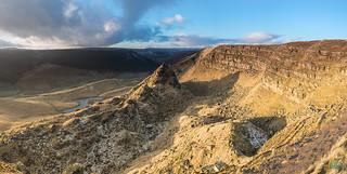 Alport Castles Panoramic