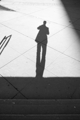 Shadowy man, From FlickrPhotos