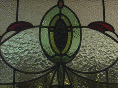 Detail of an Art Nouveau Stained Glass Window of the North Britain Hotel  Corner Doveton and Macarthur Streets, Ballarat (raaen99) Tags: city blue light red detail building green window glass architecture bar hotel pub pattern architecturaldetail interior decoration australia stainedglass victoria advertisement artnouveau shade tavern nouveau 1910s 20thcentury interiordesign stainedglasswindow feature edwardian federation ballarat 1900s jugendstil artsandcraftsmovement artsandcrafts publichouse countryvictoria lightandshade stylised publicbar macarthurst belleepoque rippledglass twentiethcentury bellepoque architecturalfeature ladieslounge macarthurstreet artscraftsmovement dimpledglass edwardiana artsandcraftsstyle artscraftsstyle provincialvictoria loungewindow dovetonstreet northbritainhotel hostlery northbritain artnouveaustainedglass thenorthbritain artnouveaustainedglasswindow dovetonst northbritainpub