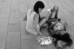 Youth (fcribari) Tags: street brazil people blackandwhite bw girl brasil youth fuji pb fujifilm recife pretoebranco pernambuco juventude garotas giels x100s
