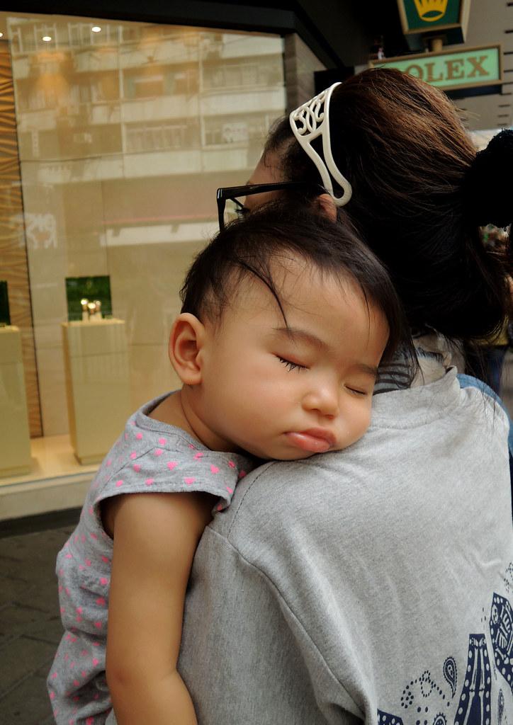 asian mom sleep