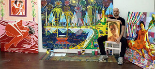 raphael perez art studio painter realism naive art  רפי פרץ סטודיו רחוב התחייה 22  טלפון 0525543815 מחיר מחירים תערוכה תערוכות