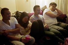 New Years Eve (bhop) Tags: california leica party film drunk 50mm diy los angeles kodak nye rangefinder 400 m6 v700 unicolor summitar
