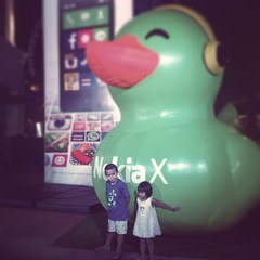 Giving some love to the Nokia X ducky #latergram