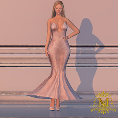 {Meghindo's} ~ Embellished Pink ~ (Meghindo) Tags: new dress collection gown 2014 meghindo