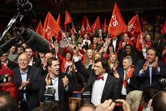 Grand Congrès de lancement de campagne - 23 mars 2014 (Parti Socialiste (PS)) Tags: mars marie belgique arena 23 olga pau ozlem pierreyves congres eliodirupo magnette jeancharles ozen luperto zrihen dermargne