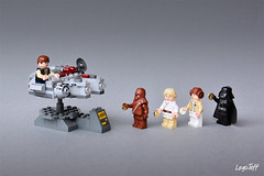 Waiting my turn (legojeff) Tags: toy starwars lego luke minifig darthvader leia hansolo toyz darkvador
