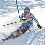 Nadine FEST of Austria takes 1st Place in the U16 Girls Slalom Race held on Whistler Mountain on April 6th, 2014. Photo by Scott Brammer - coastphoto.com - coastphoto.com