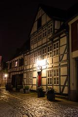 Fachwerkhaus (mcbuth) Tags: house night nacht brunswick nighttime halftimbered braunschweig nachtaufnahme fachwerk magniviertel magni