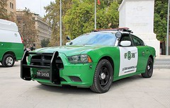 DODGE CHARGER PURSUIT | CARABINEROS (Pablo C.M || BANCOIMAGENES.CL) Tags: chile santiago police carabineros dodge dodgecharger