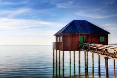 Cabin on the lake (Davide Seddio) Tags: austria bregenz bodensee palafitte