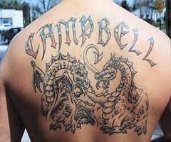 Dragon Tattoo On Back #115 (tattoos_addict) Tags: tattoo back dragon 115 dragontattoo dragontattoos