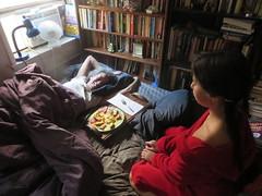 Breakfast in Bed (edenpictures) Tags: mom daughter mother eden mothersday janine scrambledeggs breakfastinbed
