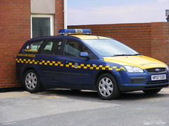3153 - HM Coastguard - Ford Focus - HF07 ESO - Lytham St. Annes Coastguard Rescue Station - Monday 21 April 2014 - DSCF9199 (Call the Cops 999) Tags: uk england coastguard rescue ford car station st focus estate 21 britain united great kingdom lytham vehicles gb april vehicle service monday hm emergency 112 annes services eso response 999 2014 lightbar dscf9199 hf07