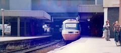 WAKEFIELD AT LEEDS (agathaccat) Tags: yorkshire platform railway locomotive britishrail trainspotting hst spotter leedsstation highspeedtrain railwaynostalgia 43102 platformend