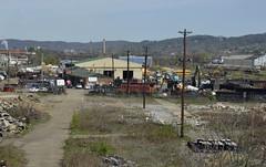 McKees Rocks, Pennsylvania (Bob McGilvray Jr.) Tags: railroad train tracks caboose mckeesrockspennsylvania