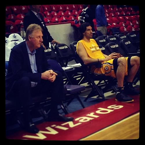 Nervous Larry (& Luis)...