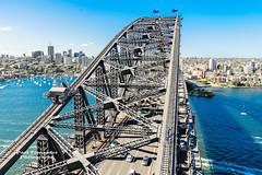 Sydney Harbor Bridge, Sydney, New South Wales, Australia (D200-PAUL) Tags: sydney australia newsouthwales sydneyharbour citycircle harborbridge thebridge hellgatebridge sydneyharborbridge thecoathanger steelarchbridge francisgreenway harborbridgesydney jjcbradfield