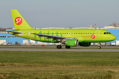 S7 Airlines, VP-BHG, Airbus A319-114 (Anna Zvereva) Tags: plane airport aviation airbus boeing spotting dme domodedovo  uudd