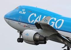 KLM Cargo Boeing 747-400ERF (AMSfreak17) Tags: amsterdam airport off cargo take boeing klm schiphol runway ams eham polderbaan 36l phckc 747400erf amsfreak17
