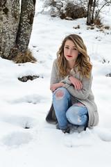 Elisa (marine.cluzel) Tags: portrait hiver neige fille