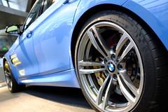 M power! (Melvin Yue) Tags: car germany munich automobile europe fuji wheels tires f30 bmw fujifilm brake munchen m3 rims motorsports deutchland welt 3series mpower mperformance x100s