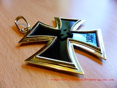 Nazi Cross (PureGoldPlating) Tags: gold nazi platinum nazicross