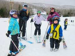 All Of Us At Okemo (Joe Shlabotnik) Tags: winter snow vermont skiing violet lynn sue everett okemo faved 2015 emiliew 60225mm january2015