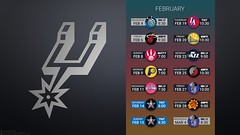 2015 Spurs schedule - 04 February (RMTip21) Tags: basketball spurs james tim san tony kobe national bryant antonio manu nba duncan parker gregg association lebron ginobili popovich