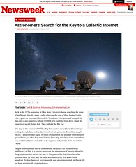 Astronomers Search for the Key to a Galactic Internet (josefrancisco.salgado) Tags: chile alma astrophotography article newsweek publication sanpedrodeatacama iiregióndeantofagasta llanodechajnantor provinciadeelloa llanodechajnantorobservatory