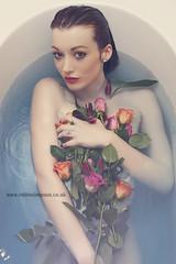 Nikki Bath (rob0460) Tags: flowers roses naked bathroom bathtub bathshoot